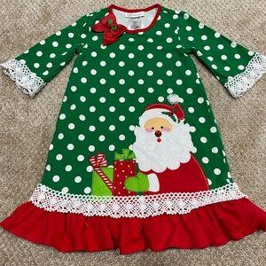 Bonnie Jean - Christmas Santa Clause Dress